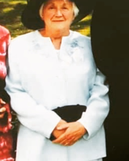A photo of Margaret Stott
